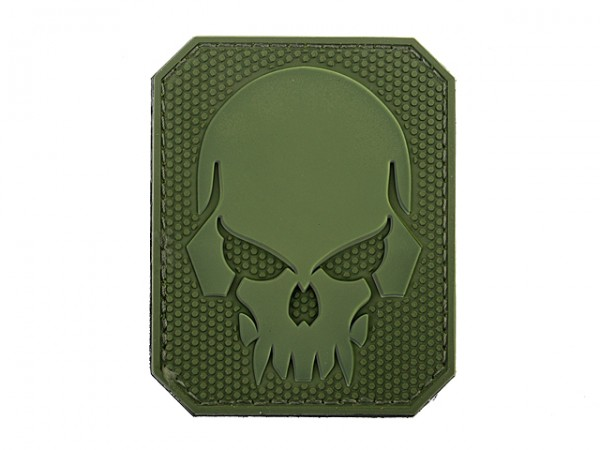Skull Patch Oliv