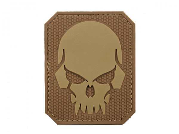 Skull Patch Tan