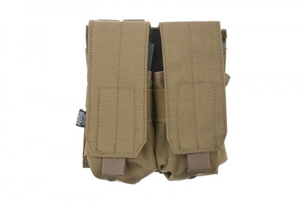 Doppelmagazintasche geschlossen M4/M16 Tan