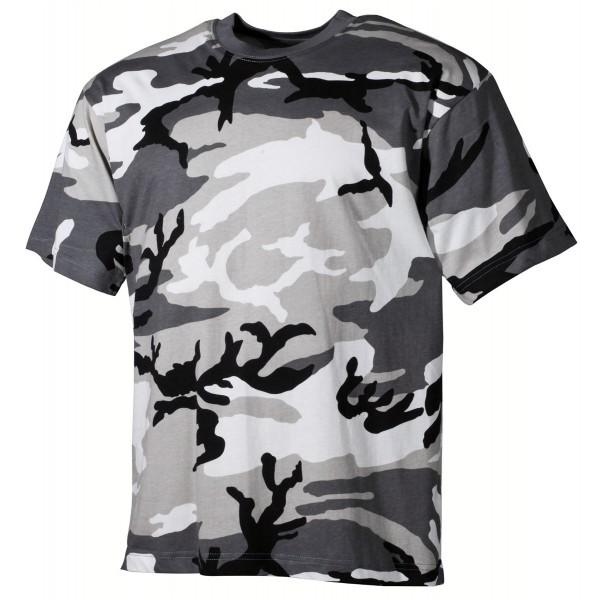 US T-Shirt, halbarm, urban, 170 g/m² M