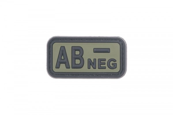 AB NEG Pvc Patch
