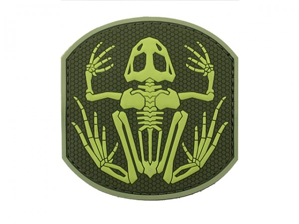 Skullfrog Navy Seal Patch Poison