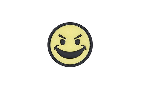 Evil Smile Rubber Patch