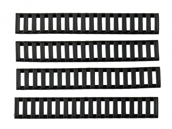 LADDER RAIL PANEL SET C - BLACK