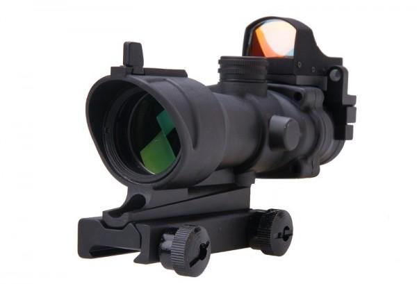 Acog 4x32 mit Micro Rotpunktvisier