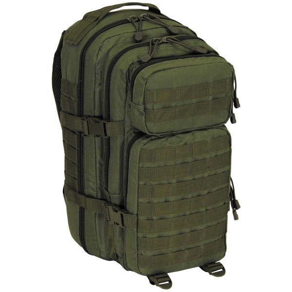 "US Rucksack, Assault I, ""Basic"" OLIV"