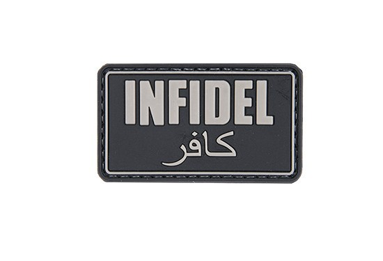 "Patch ""Infidel"" Black"