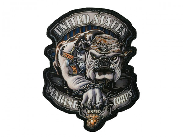 DEVIL DOG PRINTED PATCH
