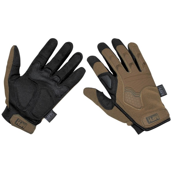 "Tactical Handschuhe, ""Attack"" coyote tan Gr.S"
