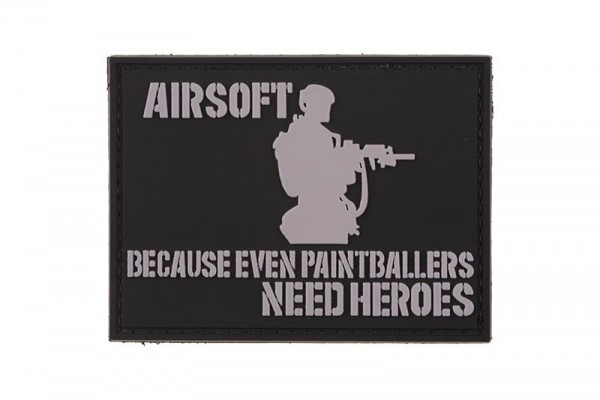 Airsofters Rubber Patch