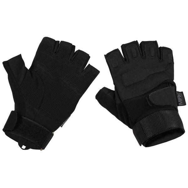 """Tactical Handschuhe,""""Pro"""", ohne Finger, schwarz Gr.L"""