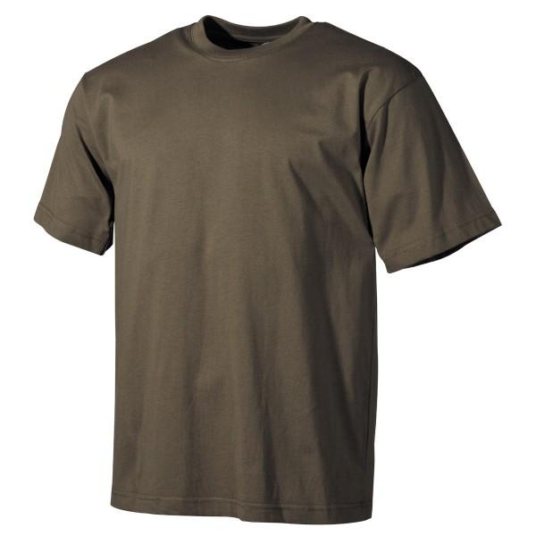 US T-Shirt, halbarm, oliv, 170 g/m² S